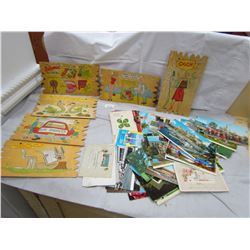 LOT OF COMICAL AND OTHER POSTCARDS