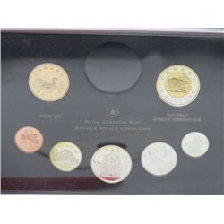 2006 PROOF SET OF CANADIAN COIN SET, 7 PC SET