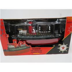 "OLD STOCK TEXACO ""THE AMERICAN"" TUGBOAT BANK 2002"