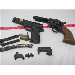 LOT OF AIR GUN PARTS
