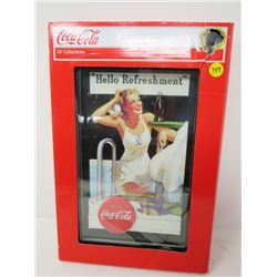 """3 D ADVERTISING PICTURE (COCA COLA 15""""X10"""") *3D COLLECTABLE*"""