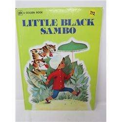 CHILDRENS BOOK (LITTLE BLACK SAMBO) *HELEN BANNERMAN-GOLDEN PRESS* (VERY RARE)