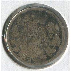 TEN CENT COIN (CANADA) *1887*