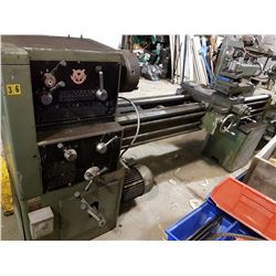 "Voest Lathe 18""-60"" with morse taper 4"
