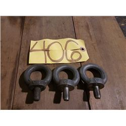 Lot of C-15E Forged Eye Bolt
