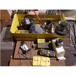 Box with contain (motor tested)