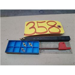 """Tool Holder SVVCN-12 1/2"""" with inserts & Key"""
