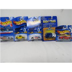 LOT OF 5 MATCHBOX TOYS (COOPER, CORVETTE, PORSCHE, ETC…) *N.O.S.*