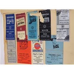 LOT OF MATCHBOOK COVERS (IN ALBUM)