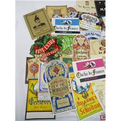 LOT OF BOOZE LABELS