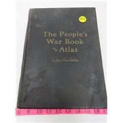 THE PEOPLES WAR BOOK (SIGNED BY BILLY BISHOP)