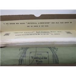 PLAYER PIANO ROLL