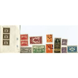 LOT OF ASSORTED STAMPS (NEWFOUNDLAND)