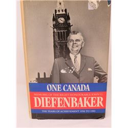 DIEFENBAKER BOOK