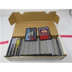 LOT OF TRADING CARDS (WRESTLING)