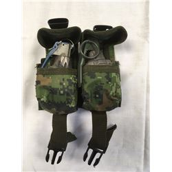 MOLLE NYLON GRENADE POUCH (CANADIAN DIGITAL CAMO)*GRENADE NOT INCLUDED*