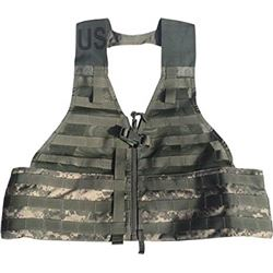 NEW US MILITARY LOAD BEARING VEST, ACU CAMO