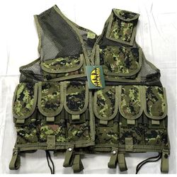 NEW PARKLANDS TACTICAL SWAT VEST - CANADIAN DIGITAL
