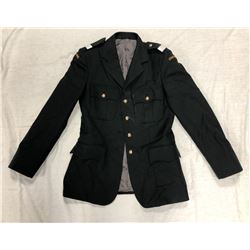 PARADE COAT (BLACK) *SIZE MEDIUM*