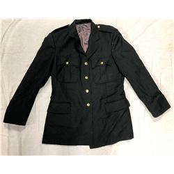 PARADE COAT (BLACK) *SIZE LARGE*