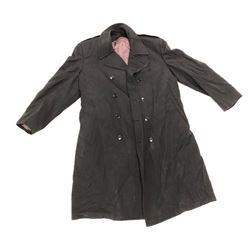 LONG PARADE COAT (BLACK) *SIZE LARGE*