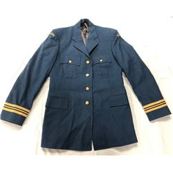 ROYAL CANADIAN AIR FORCE,  MAJORS DRESS COAT SIZE  LARGE