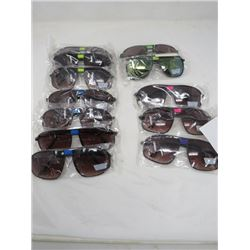 LOT OF 13 PAIR OF SUNGLASSES (NEW) *VARIOUS STYLES* (ADULT SIZES) *UV PROTECTION*