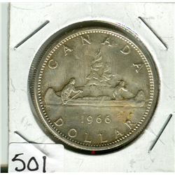 CANADIAN DOLLAR COIN (1966)