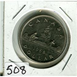 CANADIAN DOLLAR COIN (1968)