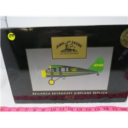 MODEL AIRPLANE (JOHN DEERE) *COLLECTIBLE*