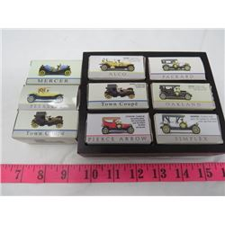 LOT OF 9 MINI CARS (WITH DISPLAY)
