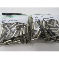 FIRED ONCE 38 CAL- 400 ROUNDS