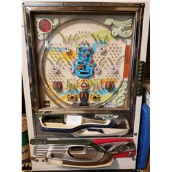 VINTAGE JAPAN PACHINKO GAME  (LARGE AND HEAVY)
