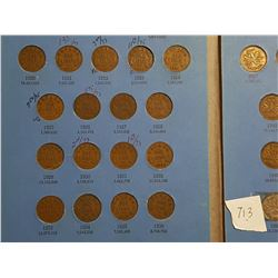 CANADA 1 CENT SET 1920-1971 INCLUDES ALL KEY DATES