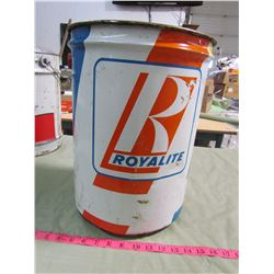 5 GALLON ROYAL LITE METAL PAIL (VINTAGE)