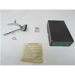 MANUAL HAIR CLIPPERS (ORGINAL BOX) *ORIGINAL INSTRUCTIONS*