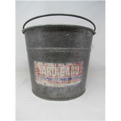METAL PAIL WITH HANDLE (YARD GARD)