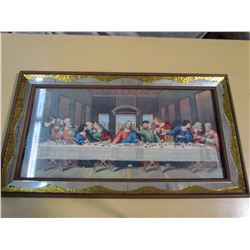 "FRAMED ""LAST SUPPER"""