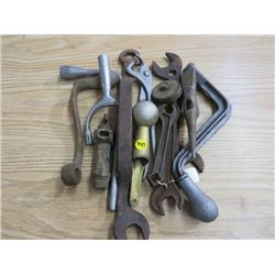 LOT OF ASSORTED TOOLS (VINTAGE)