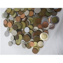 LOT OF OLD FOREIGN COINS