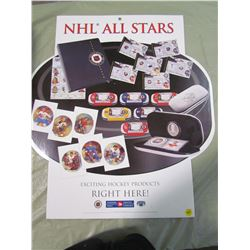 NHL ALL STARS POSTER (CANADA POST)