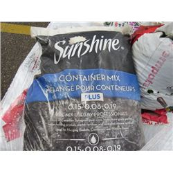 PALLET OF PLANT SOIL (APPROX 15 TO 20 BAGS)