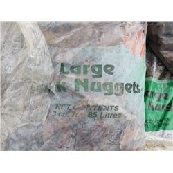 PALLET OF WOOD CHIPS (APPROX 12 BAGS)