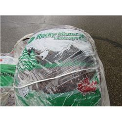 PALLET OF WOOD CHIPS (APPROX 15-18 BAGS)