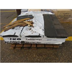 PALLET OF SHINGLES (APPROX 28 BUNDLES) *HIP AND RIDGE*