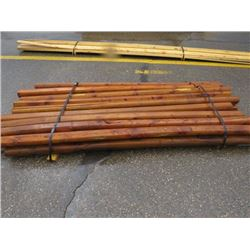 TREATED POSTS (APPROX 20 PIECES) *10' LONG*