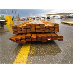 "LOT OF LUMBER (2"" X 4"") *TREATED AND UNTREATED* (12' LONG)"
