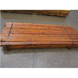 POSTS (TREATED) *SQUARE* (8') *APPROX 20 PIECES*