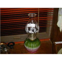 WHITE FLAME LIGHT CO. KEROSENE LANTERN