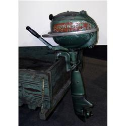 Johnson sea horse outboard motor 2 1 2 h p green for 4 horse boat motor